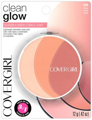 Covergirl Clean Glow Blush 100 Roses