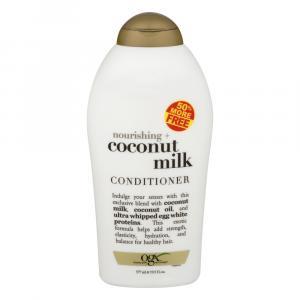OGX Nourishing Coconut Milk Conditioner 50% Free