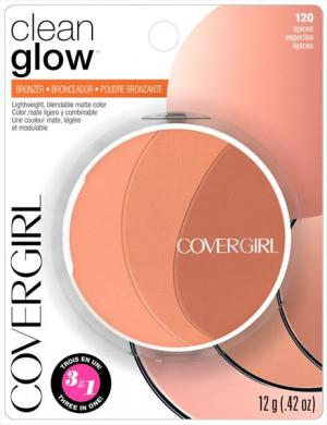 Covergirl Clean Glow Bronzer 120 Spices