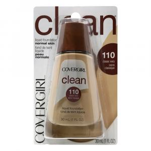 Covergirl Clean Liquid Makeup Classic Ivory 110