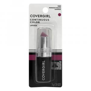 CoverGirl Continuous Color Midnight Mauve Lipstick