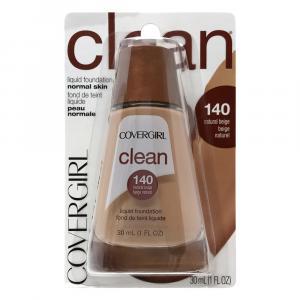Covergirl Clean Liquid Makeup Natural Beige 140
