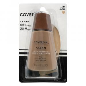 Covergirl Clean Liquid Makeup Ivory 105