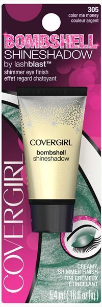 Covergirl Bombshell Shmr Shd 305 Color Me Money