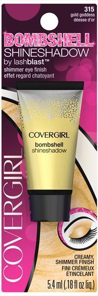Covergirl Bombshell Shmr Shd 315 Gold Goddess