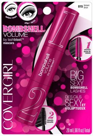 Covergirl Bombshell Vol Mascara Brown Shade 815