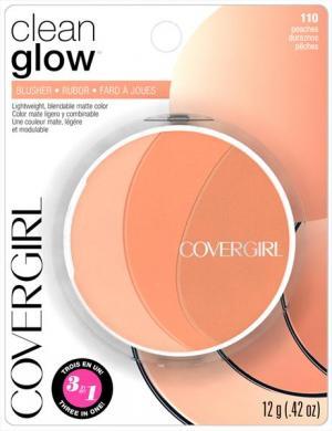 Covergirl Clean Glow Blush 110 Peaches