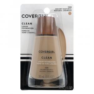 Covergirl Clean Liquid Makeup Natural 120