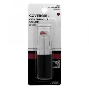 Covergirl Continuous Color Lipstick 030 It's Your Mauve