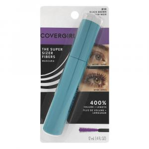 Covergirl Super Sizer Fiber Mascara Black Brown