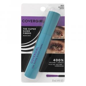 Covergirl Super Sizer Fiber Mascara Brown