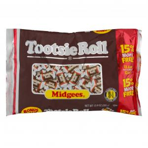 Tootsie Roll Midgees Bonus Bag