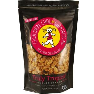 Golden Girl Granola Gluten Free Truly Tropical Granola