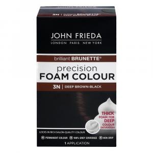 John Frieda Precision 3n Deep Brown Black Foam Hair Colour