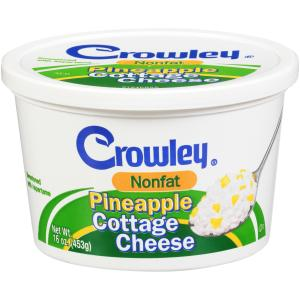 Crowley Nonfat Pineapple Cottage Cheese