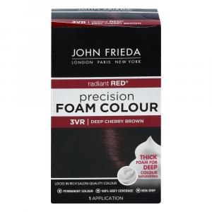 John Frieda Precision Deep Cherry Brown Foam Hair Colour
