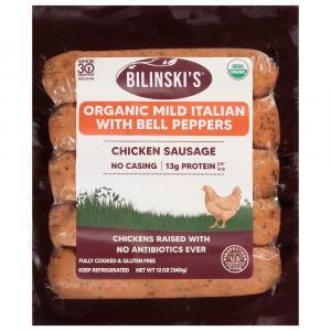 Bilinski's Organic Mild Italian Chicken Sausage