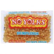 No Yolks Dumpling Noodles