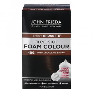 John Frieda Precision 4BG Dark Chocolate Brown Foam Colour