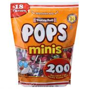 Tootsie Roll Pops Minis Resealable Bag
