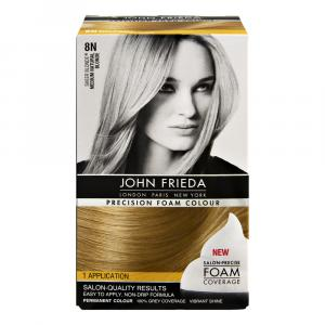 John Frieda Precision 8n Medium Natural Blonde Foam Colour