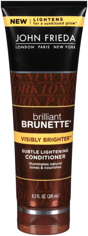 John Fredia Brilliant Brunette Visibly Brighter Conditioner