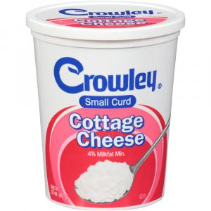 Crowley 4% Small Curd Cottage Cheese