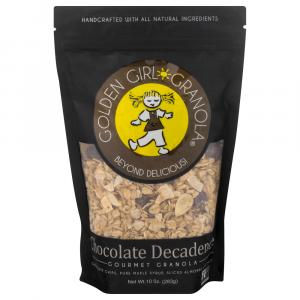 Golden Girl Granola Chocolate Decadence Gourmet Granola