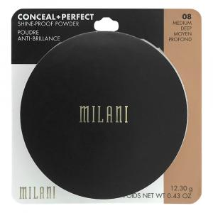 Milani Conceal + Perfect Shine-Proof Powder Medium Deep