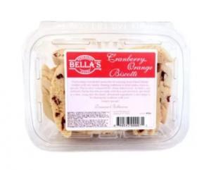 Bella's Cranberry Orange Biscotti