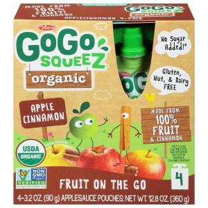 Gogo Squeeze Organic Apple Cinnamon Squeez