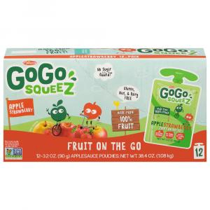 GoGo Squeeze Apple Strawberry Applesauce On the Go