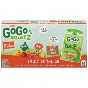 GoGo Squeeze Apple Strawberry Applesauce On the Go