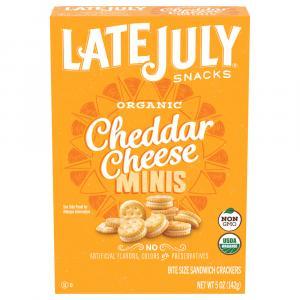 Late July Organic Mini Cheese & Rich Crackers Box