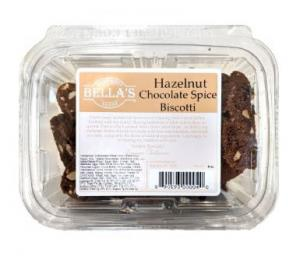 Bella's Chocolate Spice Biscotti