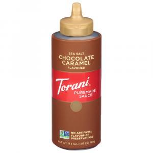 Torani Puremade Sauce Salted Chocolate Caramel