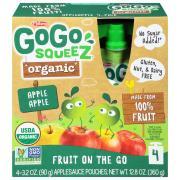Gogo Squeeze Organic Applesauce Squeez