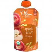 Plum Organics Apple & Carrot Baby Food