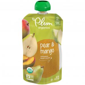 Plum Organics Pear & Mango Baby Food