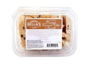 Bella's Coconut Chip Biscotti