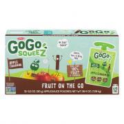 GoGo Squeeze Cinnamon Applesauce