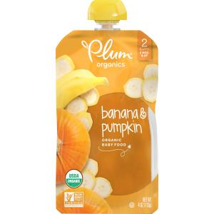 Plum Organics Pumpkin & Banana Baby Food