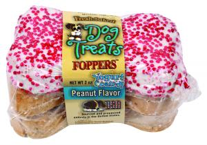 Foppers Peanut Flavor Dog Treats