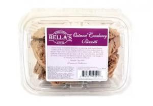 Bella's Oatmeal Cranberry Biscotti