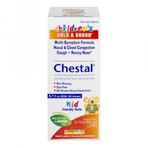 Boiron Children's Chestal Cold & Cough Syrup