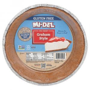Mi-Del Graham Pie Crust Gluten Free