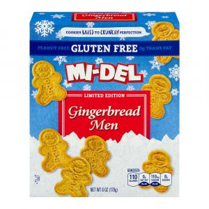 Mi-del Gluten Free Gingerbread Men Cookies