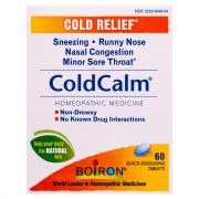 Boiron Cold Calm Cold Relief Tablets