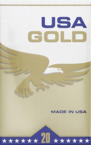 USA Gold Light Box Cigarettes