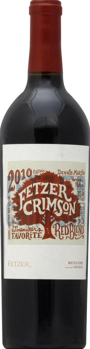 Fetzer Crimson Red Wine